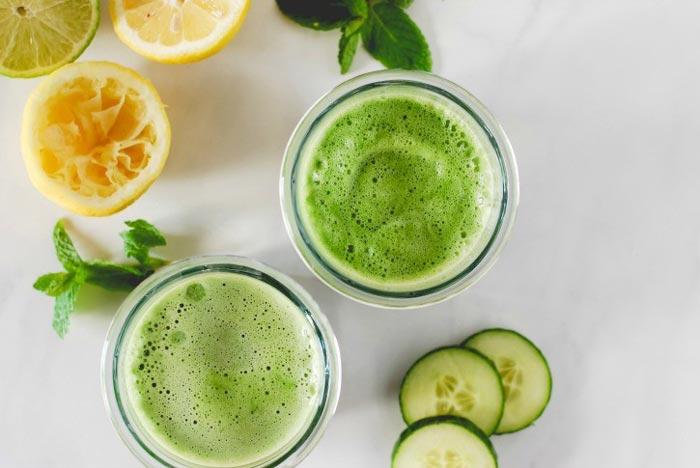 Recetas saludables para batidos verdes